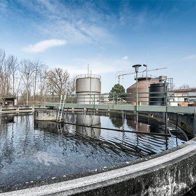Water and sewage plants